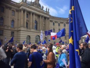 The Pulse of Europe demonatration