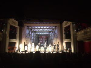 Curtain call at the end of Marat-Sade