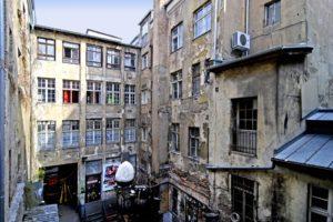 Berlin courtyards