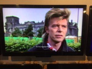 avid Bowiein Berlin, 1987