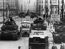 Checkpoint Charlie Then and Now - Soviet-US confrontation
