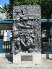 Memorial to Benno Ohnesorg outside the Deutsche Oper